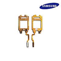 Шлейф для Samsung E730, межплатный, с компонентами (оригинал)