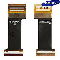 Шлейф для Samsung E950, межплатный, с компонентами (оригинал)