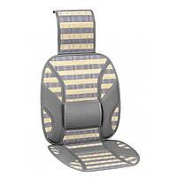 Накидка на сиденье бамбуковая Vitol CW-SC9065