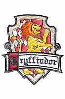 Эмблема Гриффиндор 4,5х6 см