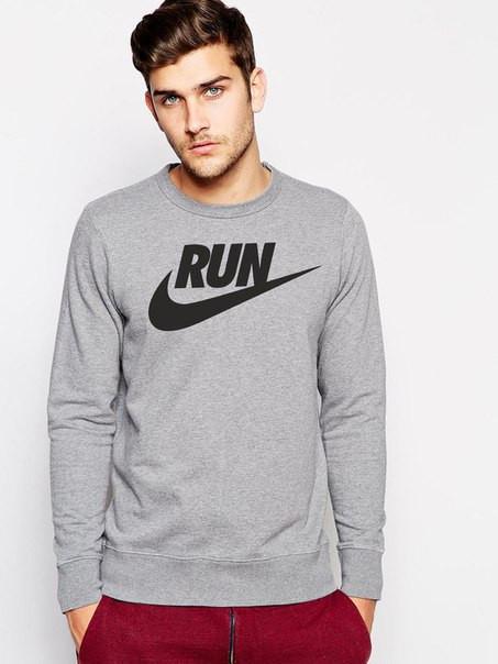 Мужской Свитшот Nike с принтом
