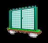 Распашные ворота 3D, Шир.3000хВыс.2430мм, фото 3