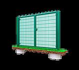 Распашные ворота 3D, Шир.3000хВыс.1680мм, фото 3