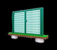 Секционные ворота 3D, 3000х1480