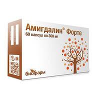 Амигдалин Форте, витамин В17 против рака, Биофарм, 300 мг, 60 капсул