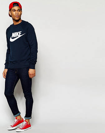 Мужской Свитшот с принтом Nike, фото 2