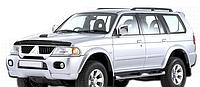 Дефлектор капота Mitsubishi Pajero Sport 1998-2009