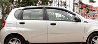Дефлектор окон Chevrolet Aveo I 2002-2006 Sedan