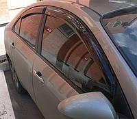 Дефлектор окон Nissan Primera (P12) 2002-2007