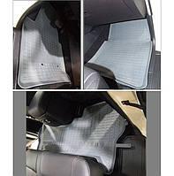 """Коврики резиновые SD Mitsubishi PAJERO """"06-"""" (3шт.) бежевые"""