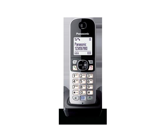 Panasonic KX-TGA681RUB дополнительна трубка для радиотелефона