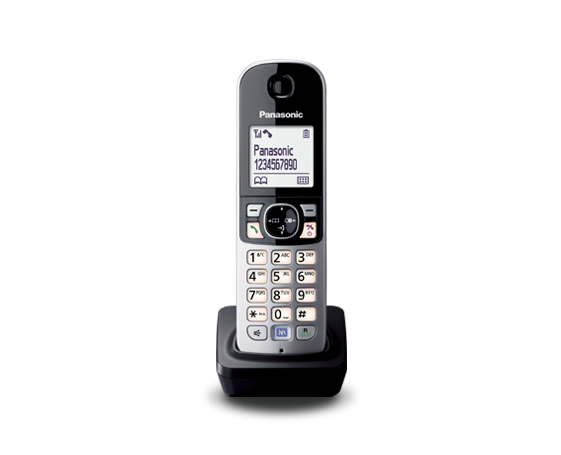 Panasonic KX-TGA681RUB дополнительна трубка для радиотелефона, фото 2