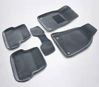 Коврики 3D текстильные с бортами Hyundai Accent 06