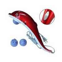"""Ручной вибромассажер для тела """"Дельфин""""  большой от сети"""