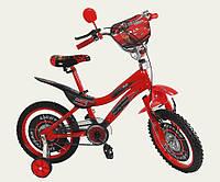 Детский двухколесный велосипед Тачки  18  дюймов