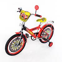 Детский двухколесный велосипед 18  дюймов  Автогонщик