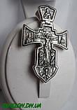 Крест серебряный Распятие. Ангел Хранитель 002, фото 2