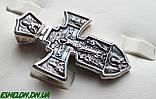 Крест серебряный Распятие. Ангел Хранитель 002, фото 5