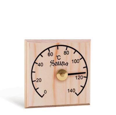Термометр квадратный, сосна Sawo 105-H - pechki.com.ua в Харькове