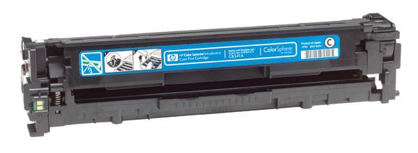 Пустой оригинальный картридж HP CB541A (125A) Cyan