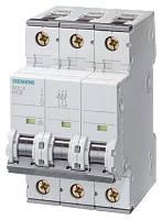 Автоматический выключатель Siemens 5SY6363-7 63A тип С, фото 1