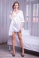 Белый женский спальный комплект