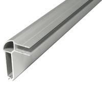 Профиль NC2LE54 N-Case2 алюминиевый двойной уголок с планкой для боковой части изделия с пазом 7мм. Используется совместно с профилем NC2HE, фото 1