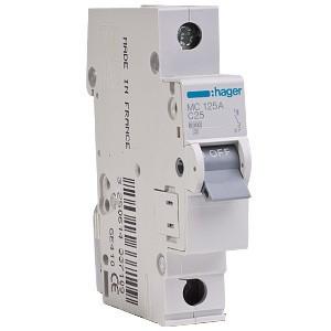 Автоматический выключатель Hager MC163A 63A 6кА 1 полюс тип С
