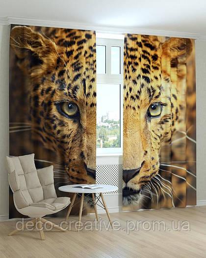Фотошторы леопард