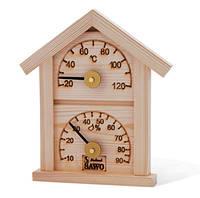 Термо-гигрометр-домик, сосна Sawo 116-TH