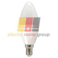 LB-197 C37 230V 7W 700Lm  E14 4000K Светодиодная лампа
