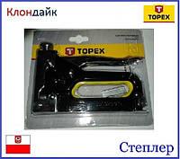 Степлер TOPEX 41E905