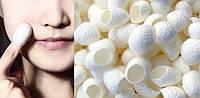 Кокон шелкопряда косметологический. Пилинг и очищение кожи лица.
