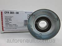 Ролик натяжного механизма ремня генератора (+AC) на Рено Кенго 1.5dci (2001>) - CAFFARO (Польша) 30300