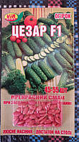 "Семена огурцов ""Цезарь F1"" ТМ VIA-плюс, Польша (упаковка 10 пачек по 45-55 семян)"