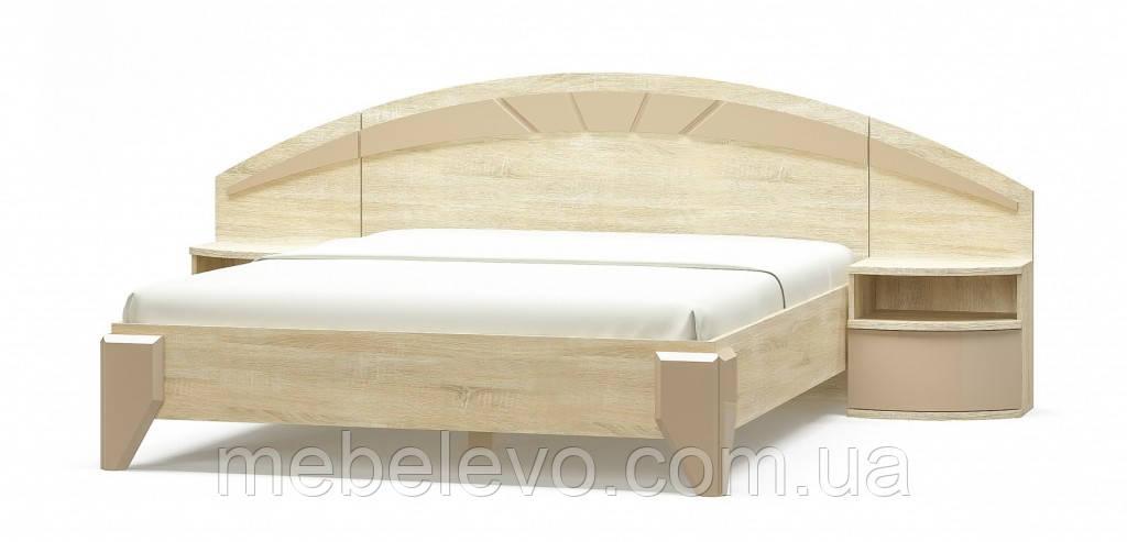 Кровать Аляска ортопед 160 1012х1704х2072мм    Мебель-Сервис