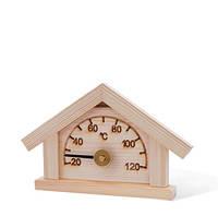 Термометр-домик, сосна Sawo 125 -T