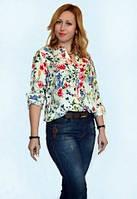 Оригинальная молодежная блуза