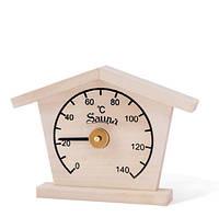 Термометр-домик, сосна Sawo 135-T