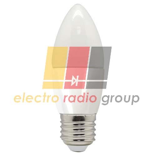 LB-97 C37 230V 5W  400Lm  E27 2700K Светодиодная лампа