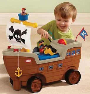 Корабль Каталка Little Tikes 622113, фото 2