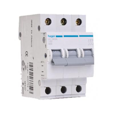 Автоматический выключатель Hager MC316A 16A 6кА 3 полюса тип С