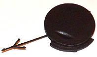 Кришка отвору буксирної провушини Opel Combo (2001-2011) для чорного бампера