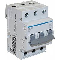 Автоматический выключатель Hager MC350A 50A 6кА 3 полюса тип С