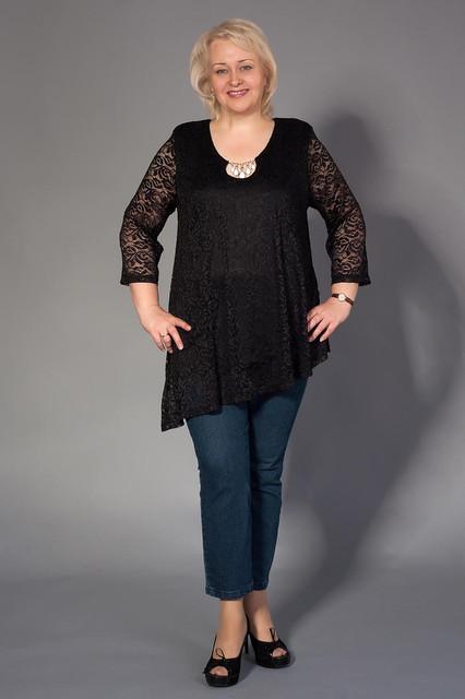 Туники,блузы,рубашки батальных размеров