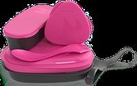 Набор посуды для кемпинга LIGHT MY FIRE LunchKit Pinkmetal 41375410