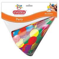 Колпаки Eventa Party бумажные 6 шт