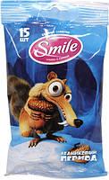Влажные салфетки Smile Ice Age 15 шт