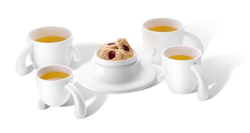 Набор чайных чашек PO: Selected Cactus Cup Set
