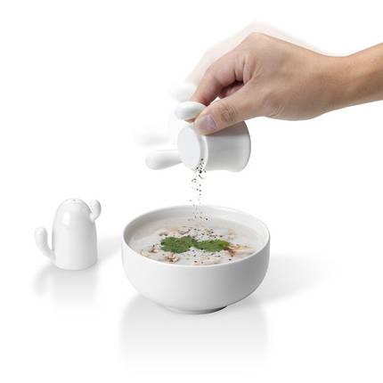 Набор из перечницы и солонки PO: Selected Cactus Salt & Pepper Shaker, фото 2